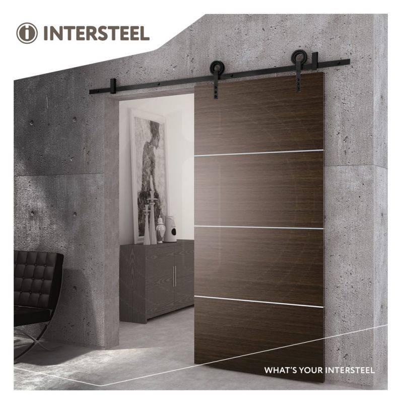 Schuifdeursystemen van Intersteel voor u barndoor.