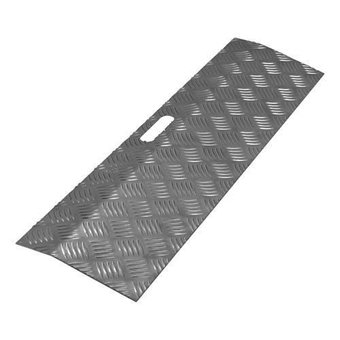 SecuCare Threshold aid Aluminum Black gray Type 1 height 0 to 3 cm - 150 kg - SecuCare