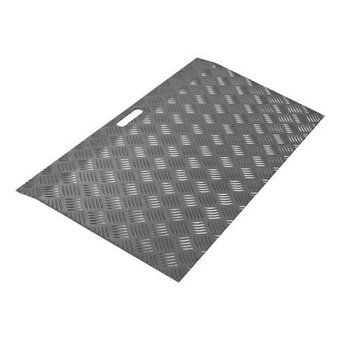 SecuCare Drempelhulp Aluminium Zwartgrijs Type 2 hoogte 3 tot 7 cm - 150 kg - SecuCare