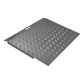 SecuCare Threshold aid Aluminum Black-gray Type 3 height 5 to 15 cm - 150 kg - SecuCare