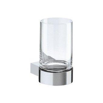 Keuco Glass holder with crystal glass series Plan Keuco