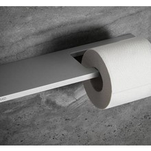 Keuco Toiletpapierrolhouder met planchet serie Edition 400 Keuco