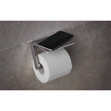 Keuco Toiletpapierrolhouder met planchet serie Plan Keuco