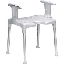 Etac R82 B.V. Swift shower stool with armrests by Etac