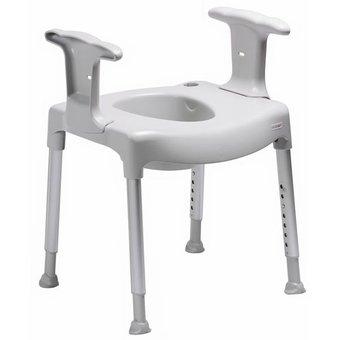Etac R82 B.V. Swift toilet riser freestanding from Etac