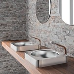 Stainless Steel Washbasin - Stainless Steel Waskom from Delabie
