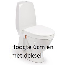 Etac R82 B.V. My-Loo toilet seat 6cm with lid -Etac