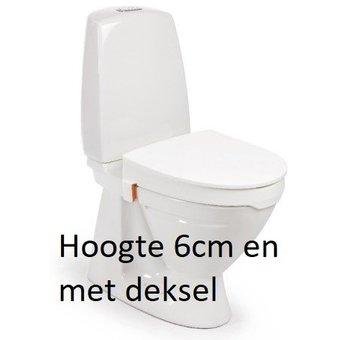 Etac R82 B.V. My-Loo toilet seat 6cm with lid - Etac