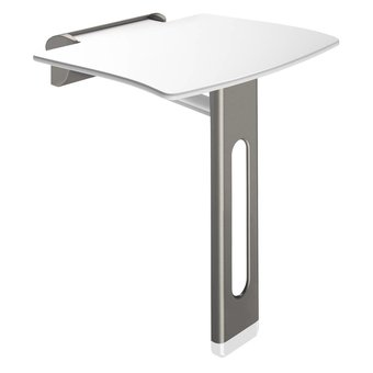 DELABIE Shower seat with foot Be-Line from Delabie