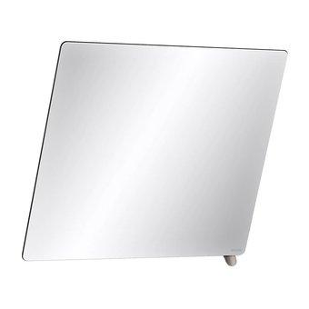 DELABIE Kantelbare spiegel met korte greep antraciet grijs van Delabie