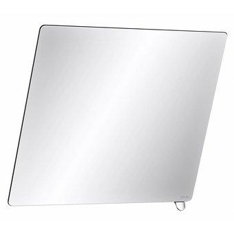 DELABIE Kantelbare spiegel met korte greep glanzend verchroomd van Delabie