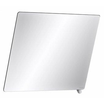 DELABIE Tilt mirror with short handle matt chrome-plated from Delabie