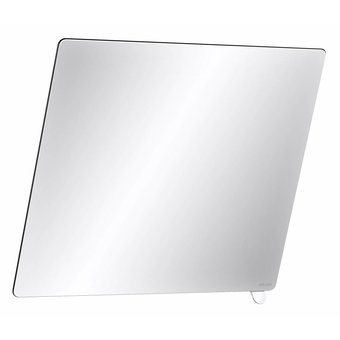 DELABIE Spiegel mit kurzem Griff aus weißem Nylon von Delabie