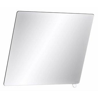 DELABIE Tilt mirror with short handle in white nylon from Delabie
