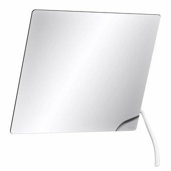 DELABIE Kippbarer Spiegel mit langem Griff aus weißem Nylon von Delabie