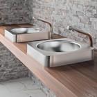 Delabie BINOPTIC hohe Wasserhähne für Waschschüsseln