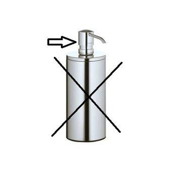 Keuco Loose Pump for the Lotion dispenser Plan Keuco