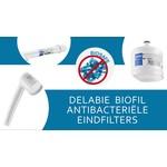 BIOFIL antibacteriële eindfilters van DELABIE
