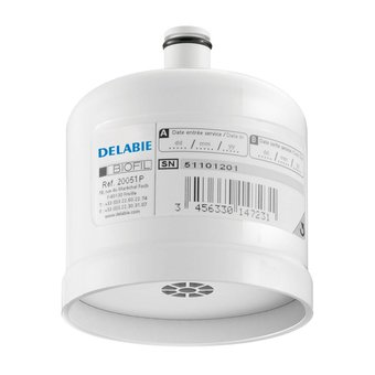 DELABIE Antibakterieller Biofil P Pattern steriler gerader Strahl für den Wasserhahn - DELABIE