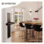 Door handles on shield from Intersteel