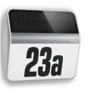Steinel XSolar LH-N sensor LED light house number lighting (stainless steel) - Steinel