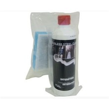 Intersteel Stainless steel cleaner with sponge 500ml