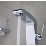 Elegance Armaturen und IR Sensor Becken Wasserhahn und WC-Hahn.
