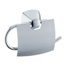 Keuco Toilet paper roll holder with lid series City.2 Keuco (chrome)