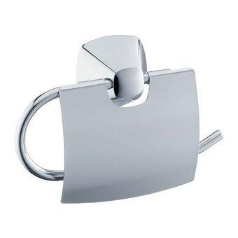 Keuco Toiletpapierrolhouder met deksel serie City.2 Keuco  (verchroomd)