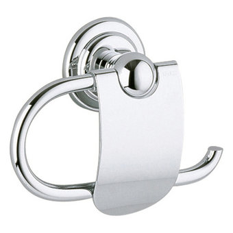 Keuco Toilet paper holder with lid series Astor - Keuco