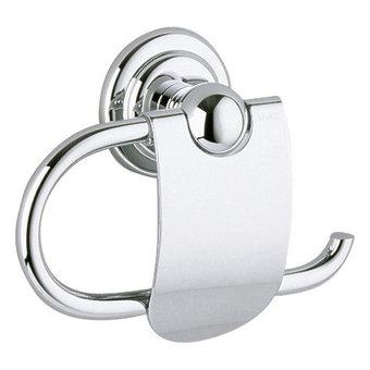 Keuco Toiletpapierrolhouder met deksel serie Astor - Keuco
