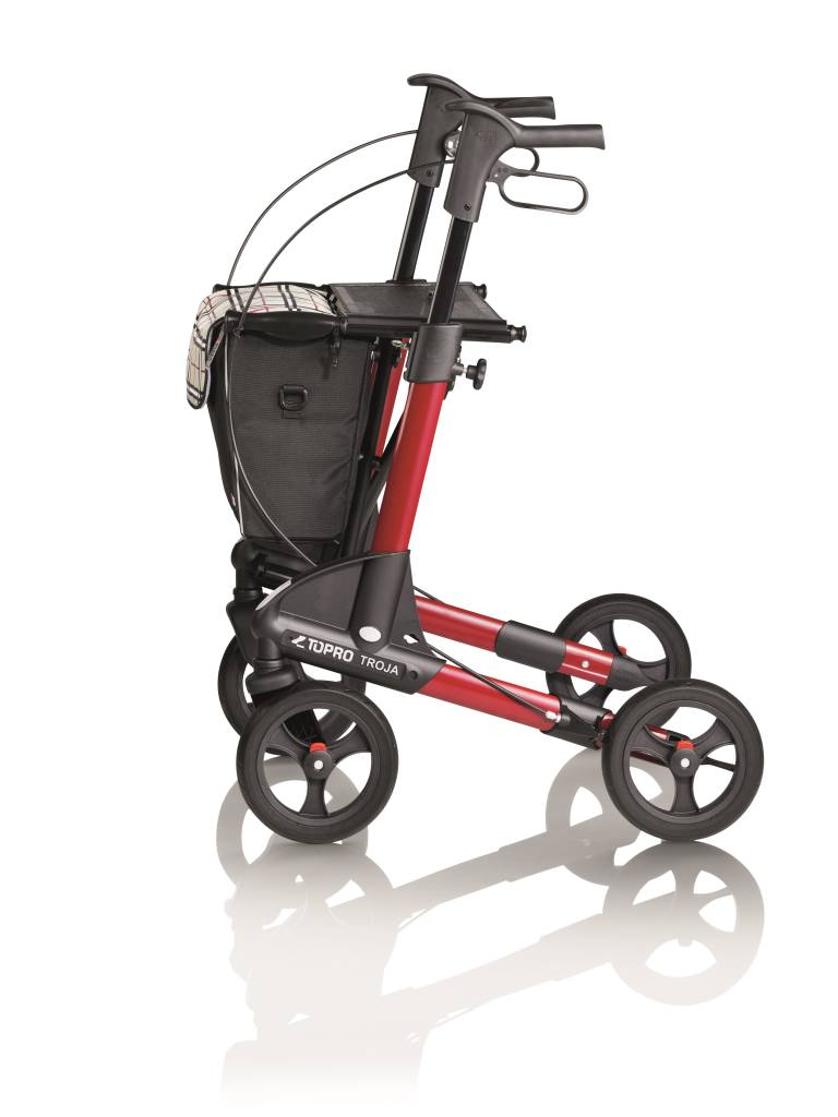aba96d925881d2 ... Topro Topro Troja 2G walker Standard M wine-red with free back support  ...