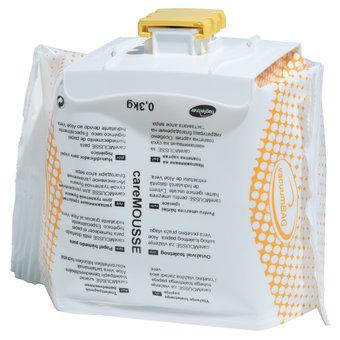 Hagleitner Hygiene foam careMOUSSE 6x 300ml - for moistening dry toilet paper - Keuco