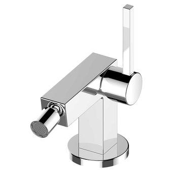 Keuco Single lever bidet mixer + drawbar Edition 90 Keuco