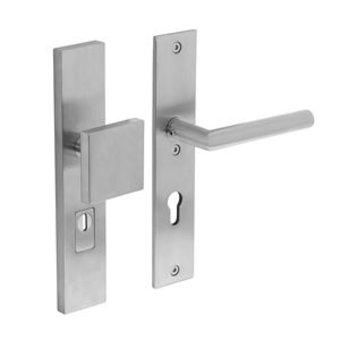 Intersteel Security fittings front door 72 mm with core pull protection Intersteel
