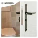 Toilet / bathroom lock and Intersteel keyhole