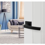 Door fittings Living Black collection - Matt black Door fittings by Intersteel