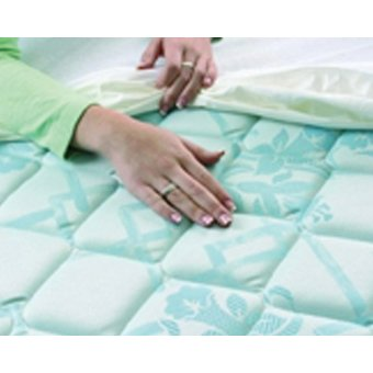 Able2 Mattress protector 90x200 cm - Premium anti allergy and incontinence