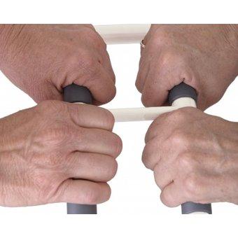 Stander Handlicher Griff - Standhilfe - Weiß