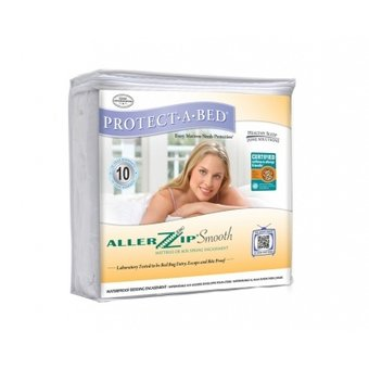Able2 Mattress protector 90x200 cm - AllerZip® anti allergy and incontinence