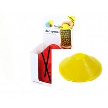 Tenura Non-slip pot opener 1x Display of 25 pieces - Yellow - Tenura