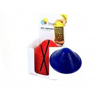Tenura Non-slip pot opener 1x Display of 25 pieces - Blue - Tenura