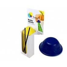 Tenura Antislip flesopener 1x  Display á 25 stuks - Blauw - Tenura
