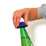Able2 Non-slip bottle opener - Blue - Tenura
