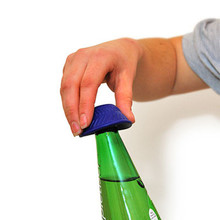 Tenura Rutschfester Flaschenöffner - Blau - Tenura