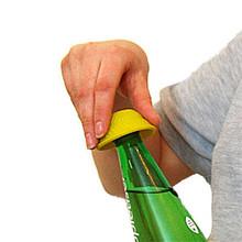 Able2 Rutschfester Flaschenöffner - Gelb - Tenura