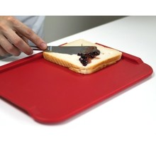 ORNAMIN Ornamin Cutting board - dinner plate - 28x21cm - Red