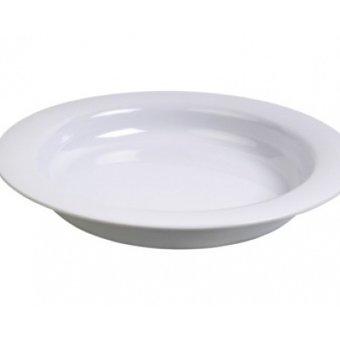 Able2 Ornamin Teller groß - Ø 26 cm - Weiß