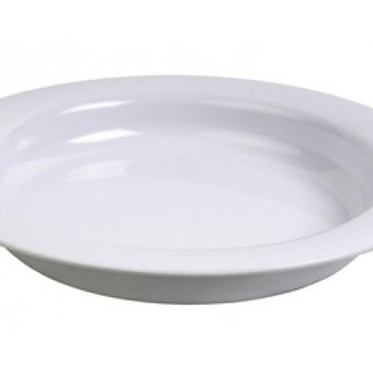 Able2 Ornamin Teller klein - Ø 20 cm - Weiß