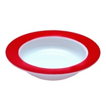 Able2 Ornamin Bowl - Ø 15.5 cm - White / Red